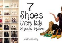 how many shoes should be on My Must-have list ?