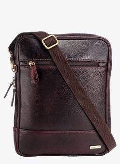 Teakwood-Brown-Leather-Sling-Bag