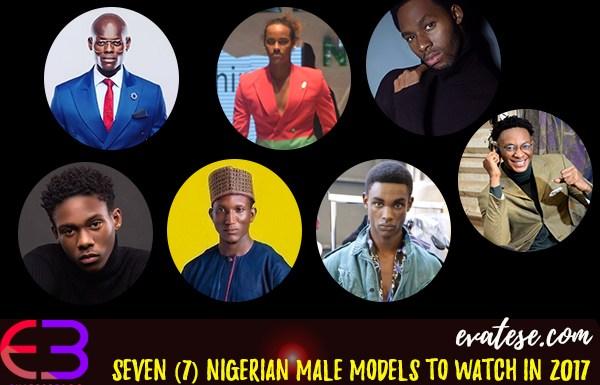 Seven (7) Nigerian Male Models To Watch In 2017