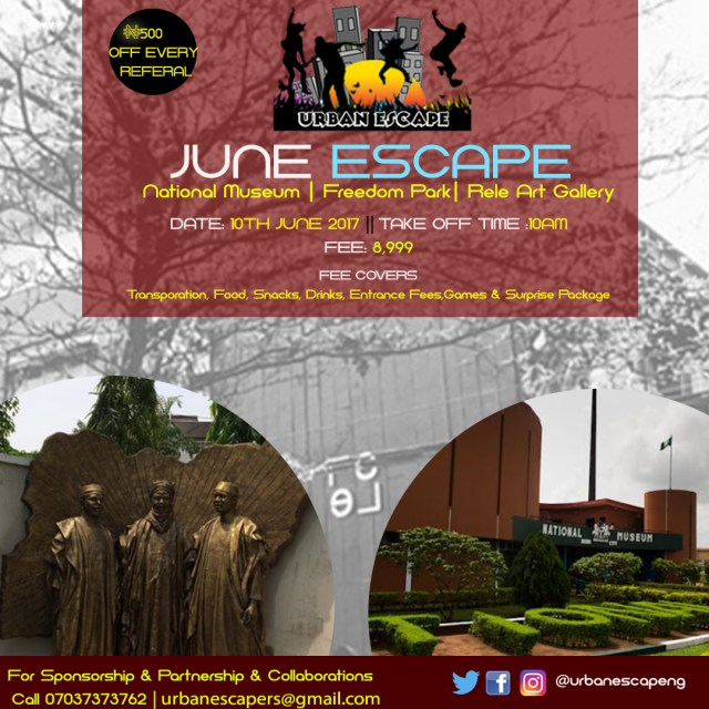 June Escape, 3 destinations , 1 Escape