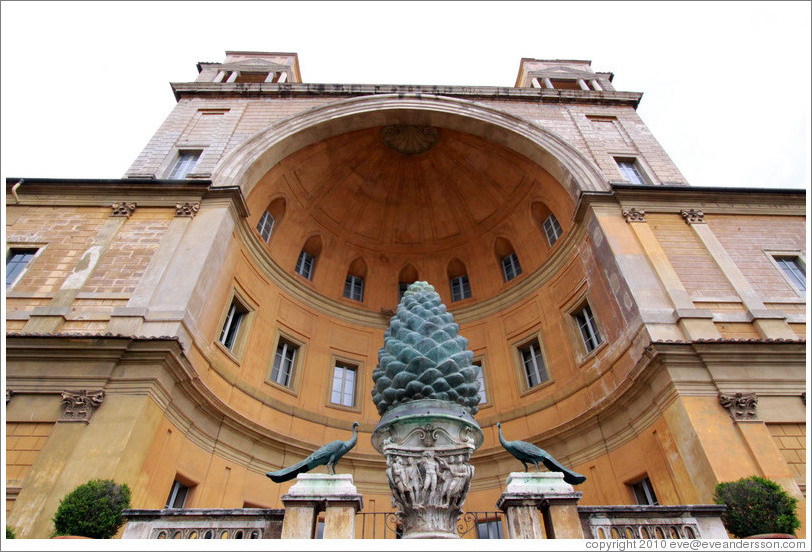 Courtyard of Pinecone - The Vatican