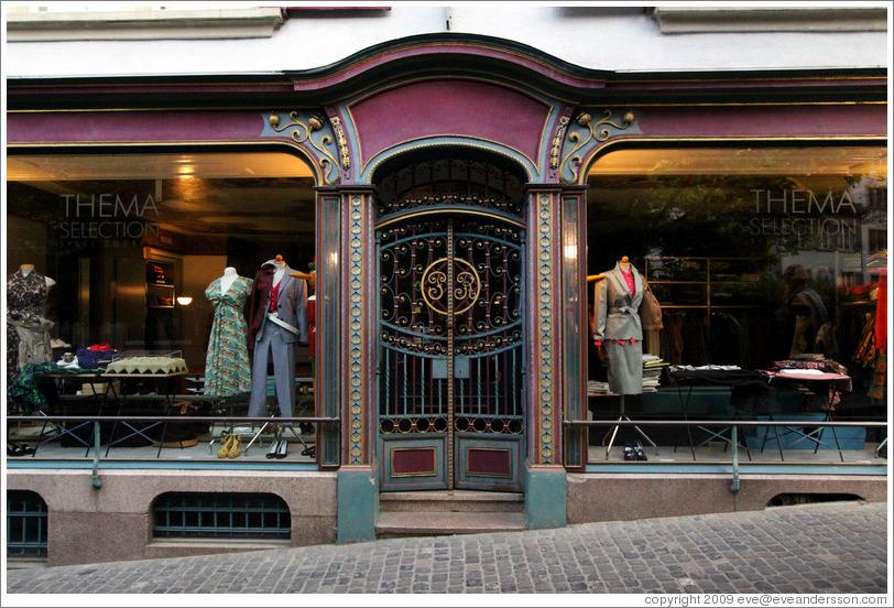 Shop Door & Transparent Frame Less Shop Front Glass Doors