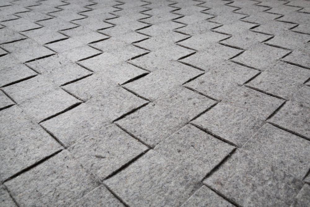 FELT rug  Eve Fineman Design LLC