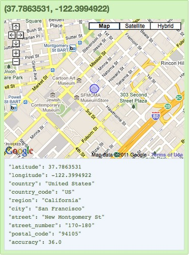 Google - adresse-mac-geolocalise