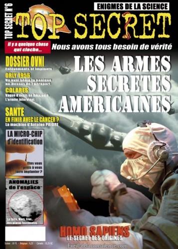 Top secret - Les armes secrètes américaines - N°6