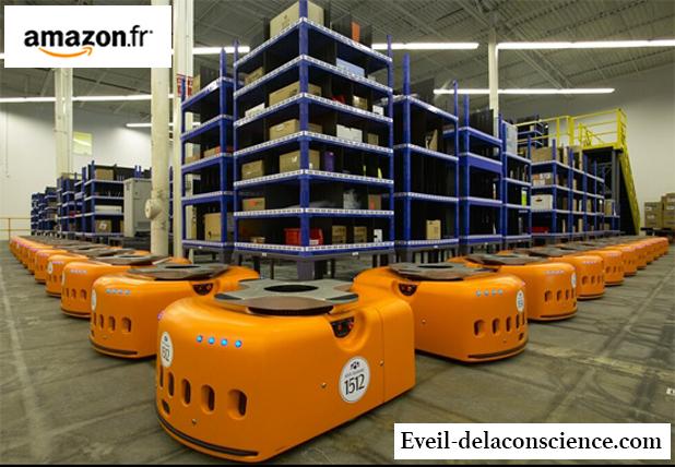 Amazon prépare Noël grâce à son armée de 15.000 robots. copie