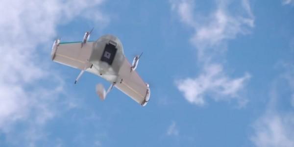 4_Project Wing - Google dévoile aussi des drones de livraison