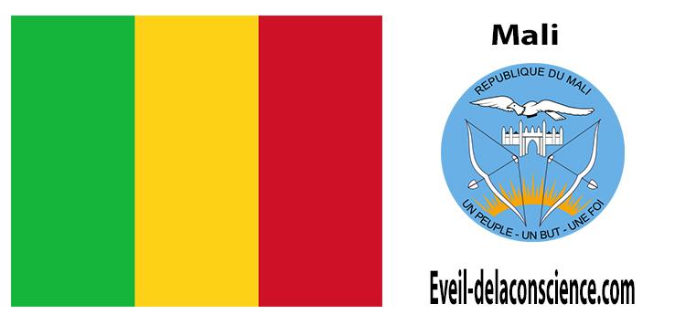 Mali - drapeau et sceau