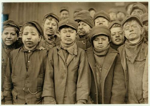1_Mineurs à Pittston, Pennsylvanie