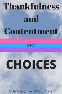 Thankfulness and Contentment