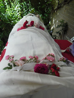 Coffins pebbles and shrouds  Evelyns Funerals