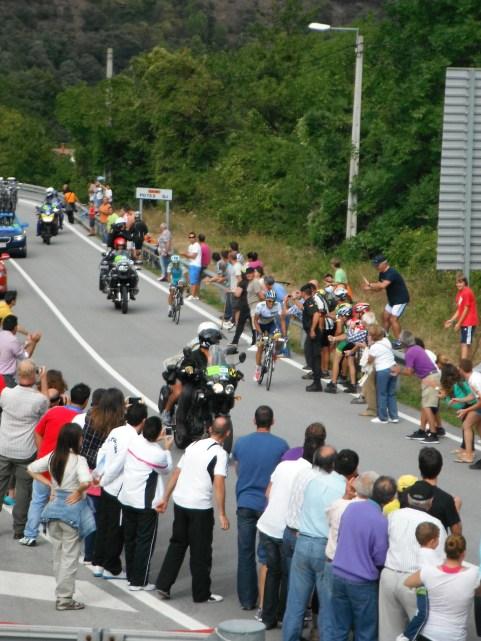 Contador ontsnapt