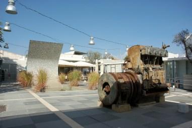 Een oude elektriciteitscentrale omgetoverd tot ruimte voor tentoonstellingen