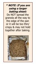 Baking note