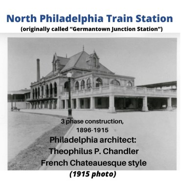 North PA Train station image with info