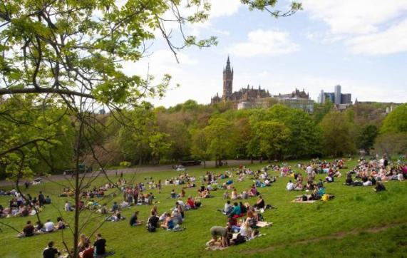Image result for kelvingrove park
