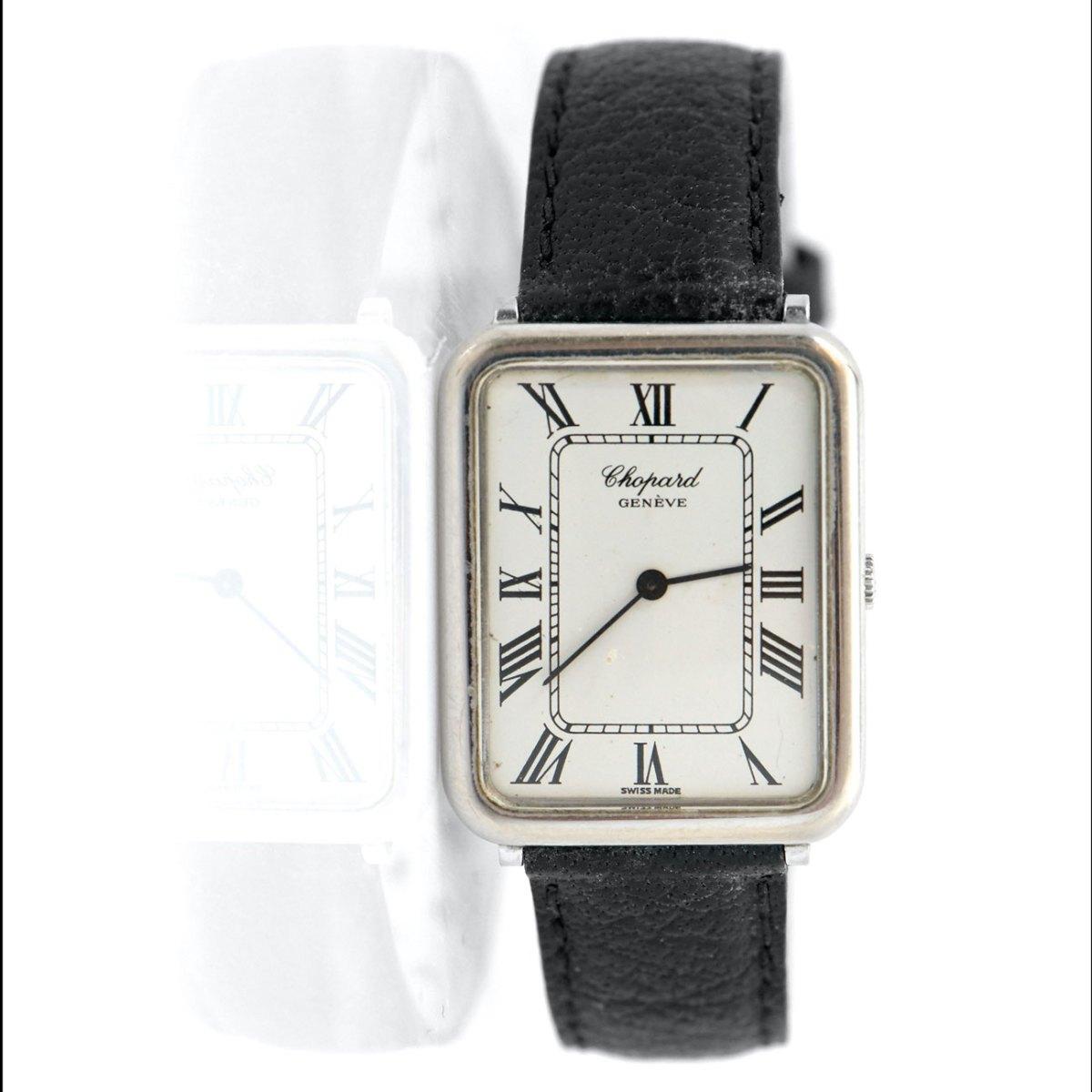 Montre CHOPARD OR blanc 750 ‰, mouvement mécanique | EVENOR Joaillerie • Montres de grandes marques Vintage | Réf. MO-B18635