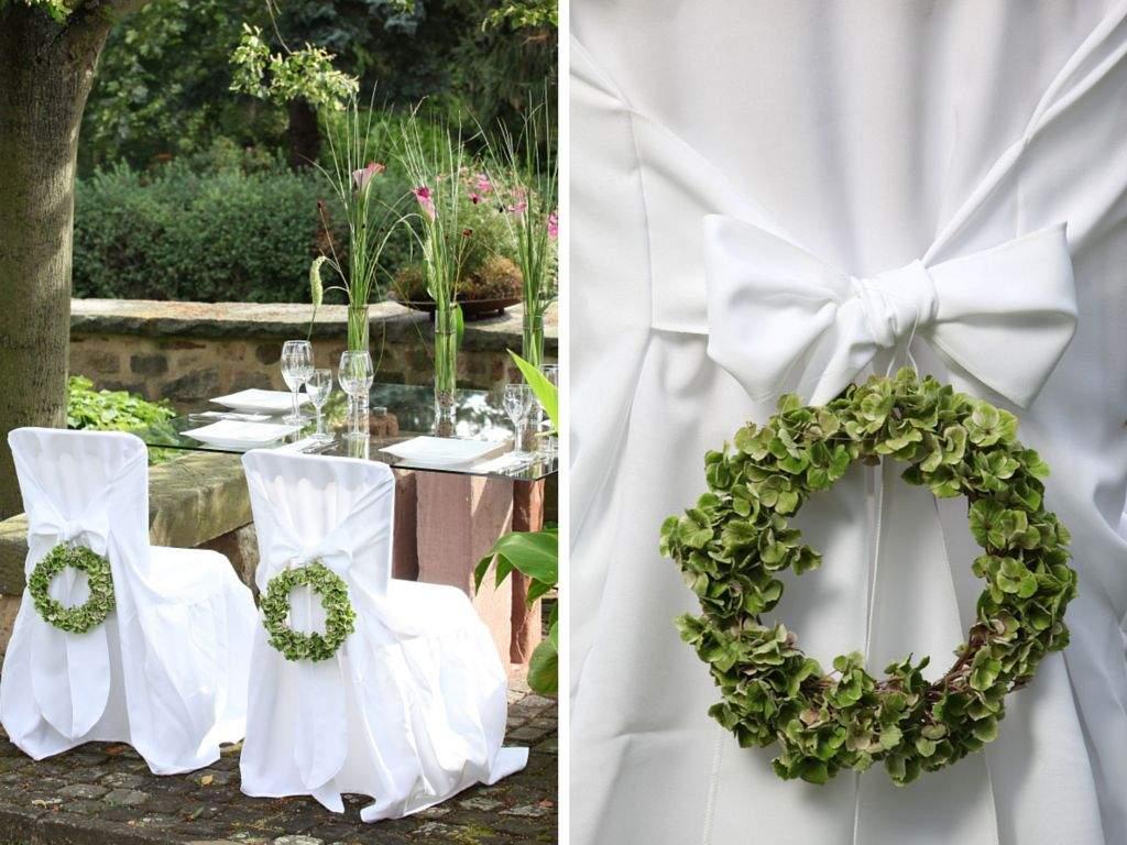 Sthle dekorieren  Event und Hochzeit Blog