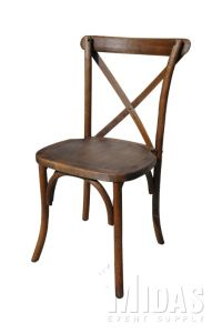 Chairs - FOREST collection cross back stacking chairs ...