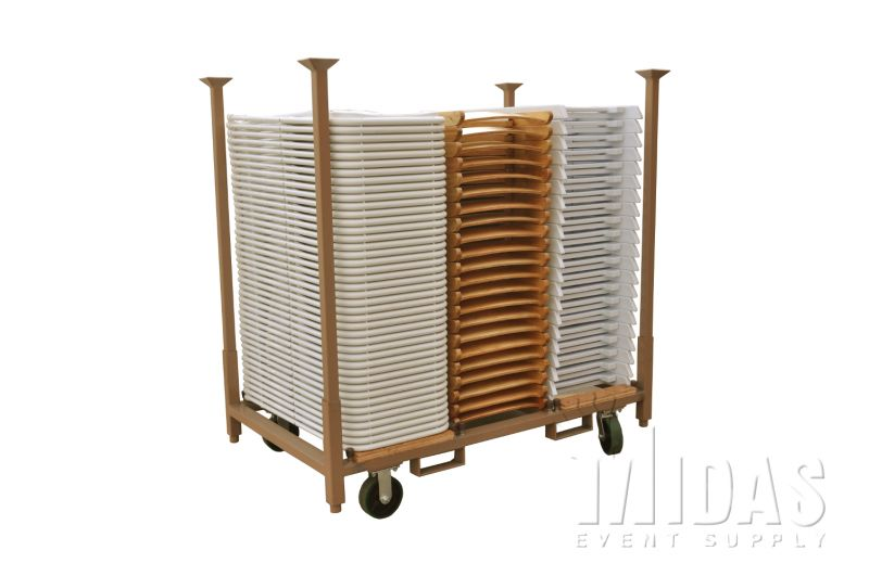 safety first folding table and chairs custom made carts - rack stack n go event suppliers, party rental ...