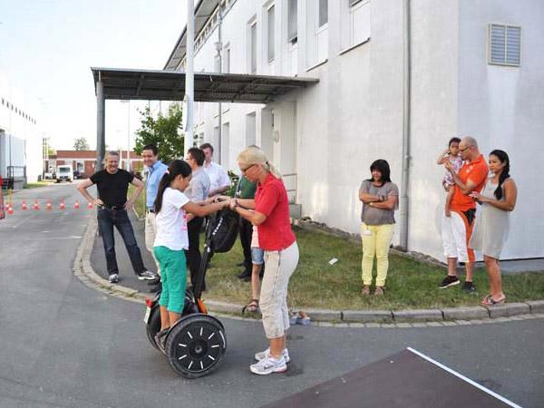 Sommerfest ErlebnisModul SegwayParcour  Eventcorner