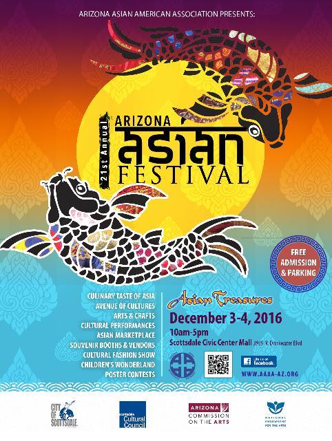 Arizona Asian Festival  Scottsdale AZ  Dec 01 2018