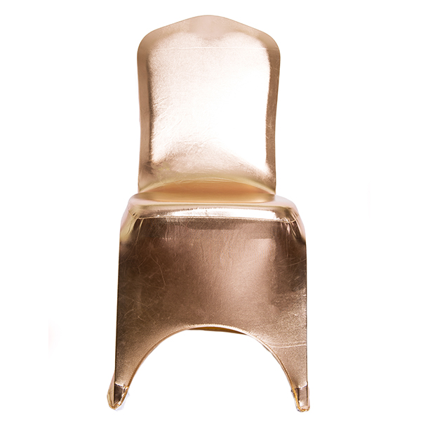 Metallic Gold Spandex Chair Covers  Gold Chair Covers for