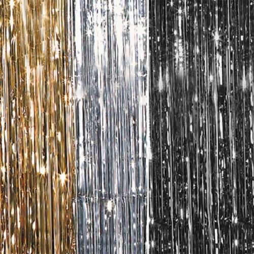 Metallic Shimmer Curtains 12ft