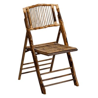 FirmFold Bamboo Folding Chair