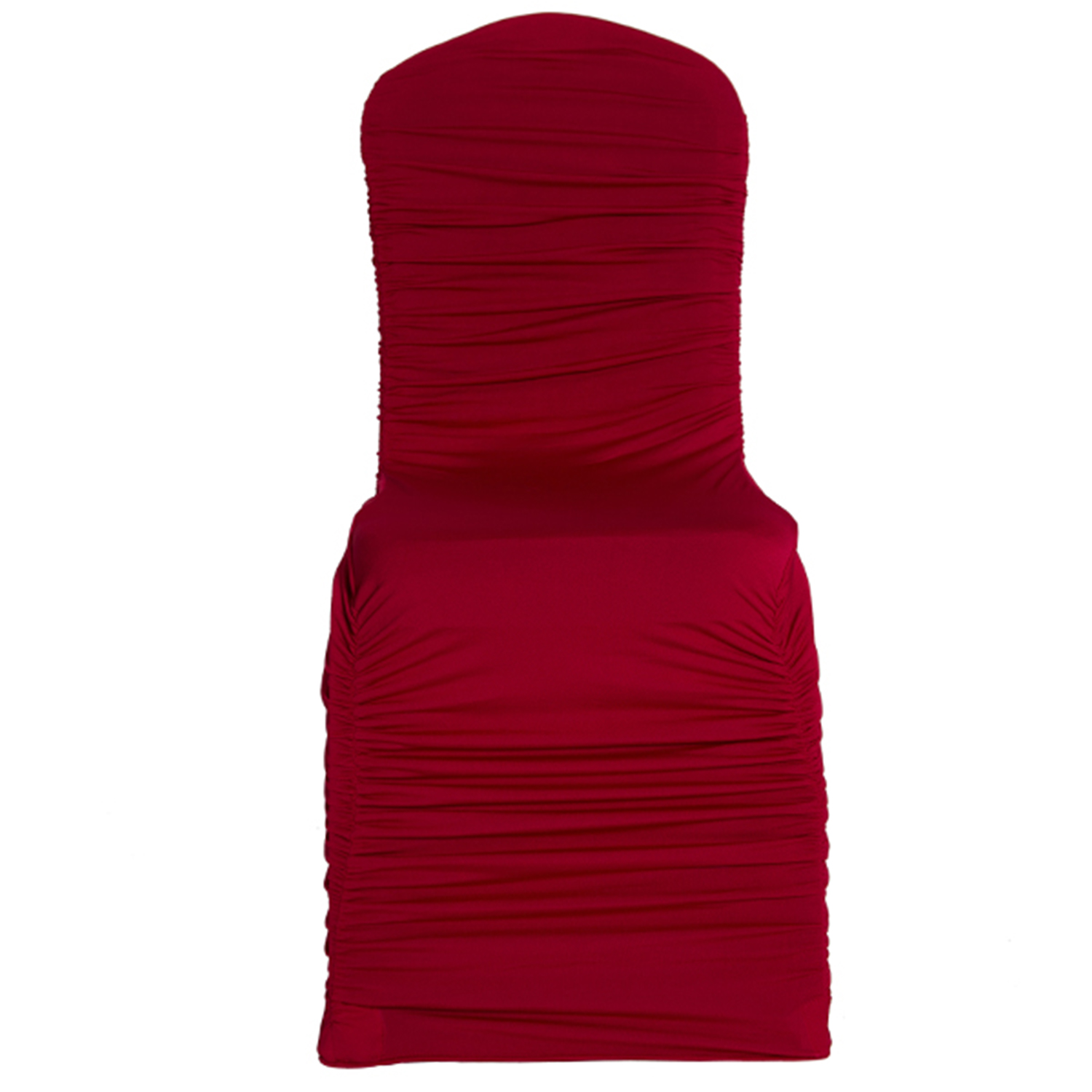 ruched spandex chair cover folding bed red wedding covers for sale