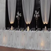 Cinderella Table Skirt | Sheer Table Skirt | Event Dcor ...