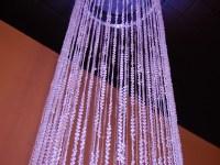 14ft Crystal Column - GORGEOUS!