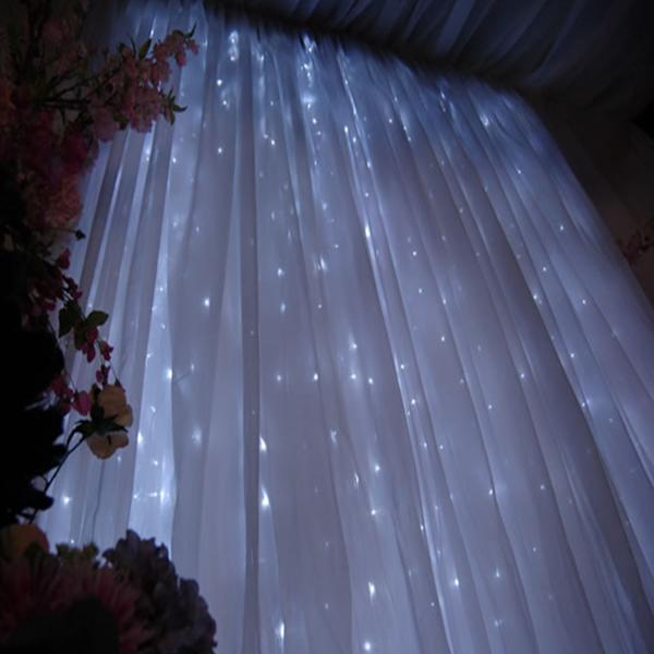 tall folding chairs hanging clear chair 12 foot led light strands | curtain lights event décor direct