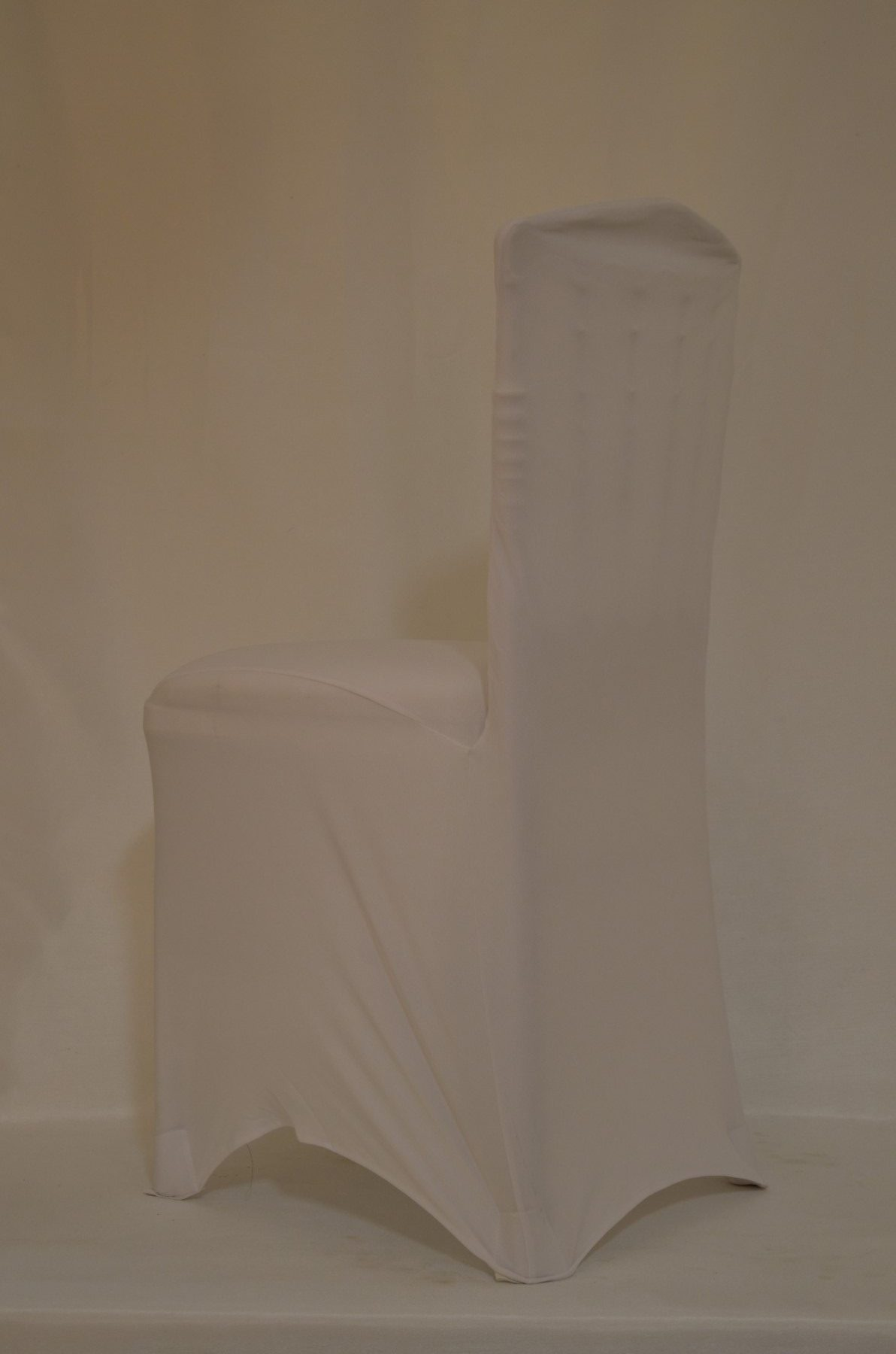 stretch chair covers wedding rental clear lucite chairs spandex cover white eventful decor rentals