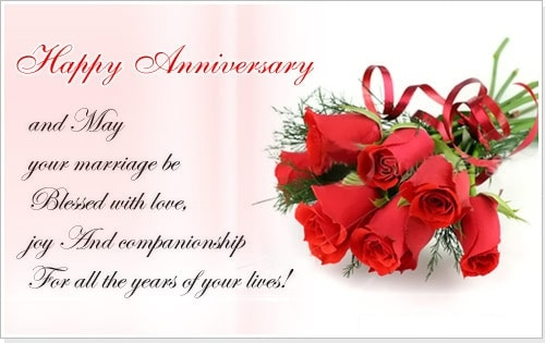 Happy Wedding Anniversary Wishes To a Couple – Events Greetings