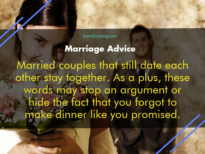 funniest marriage advice and
