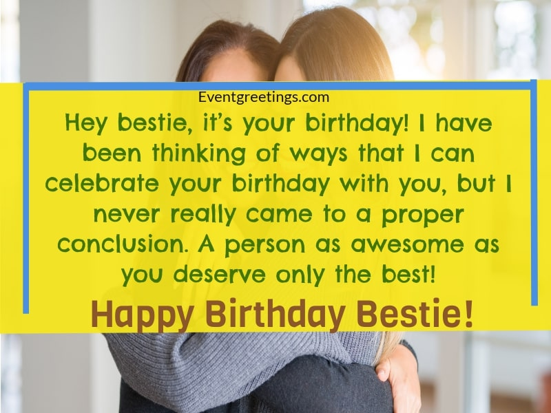 38 Bestie Funny Birthday Quotes Birthday Wishes For Best Friend Girl Iman Sumi Quotes