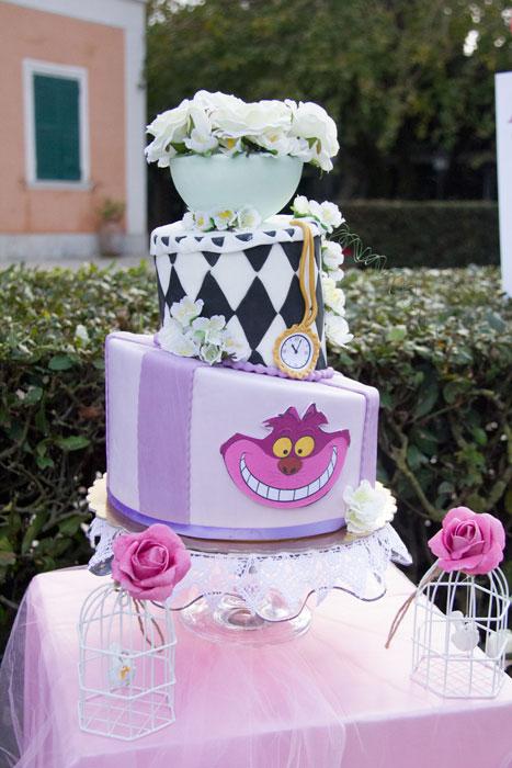 Un Buon non compleanno festa bambini a tema Alice nel