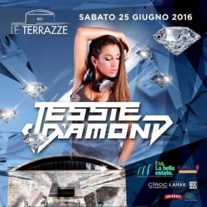 Jessie Diamond alle Le Terrazze sabato 25 Giugno 2016