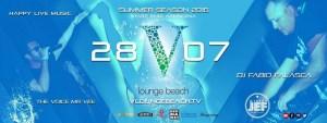 Aperitivo Ostia V Lounge beach Giovedì 28 Luglio 2016