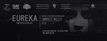 Distillerie Clandestine Roma giovedì 20 ottobre 2016 EUREKA Emanuele Inglese