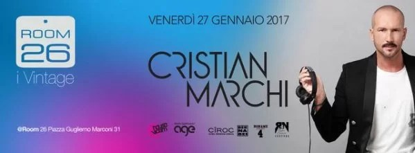 Room 26 venerdì 27 gennaio 2017 Cristian Marchi