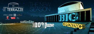 Le Terrazze discoteca Roma Inaugurazione sabato 10 giugno 2017
