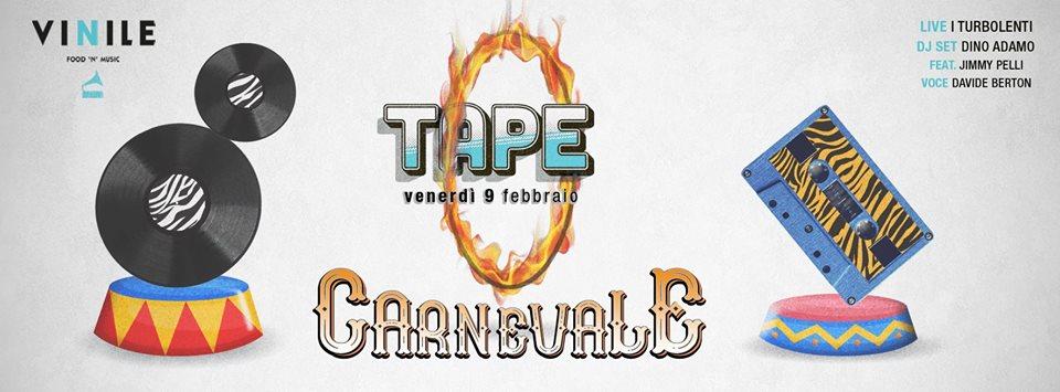 Carnevale Vinile Roma discoteca serata anni 90 venerdi 9 febbraio 2018