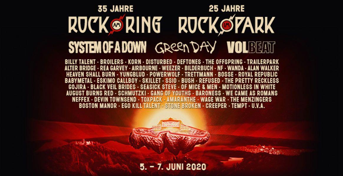 Rock Am Ring Amp Rock Im Park 2020 Mit Rea Garvey Ssio