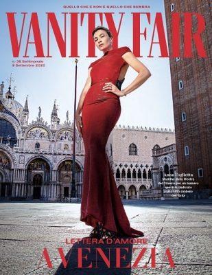 Cover Vanity Fair Lettera d'amore a Venezia