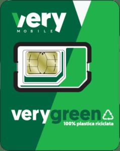 Very Mobile presenta la nuova 'SIM green'