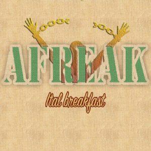cover nuovo album Afreak