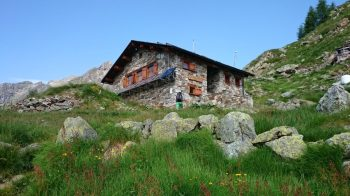 Rifugio Abate Carestia Val Vogna
