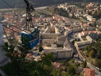 Funivia Sacro Monte di Varallo, credit ICCD